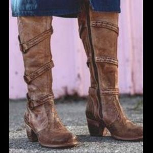 Bed Stu Decree Western Stovepipe tall Boots